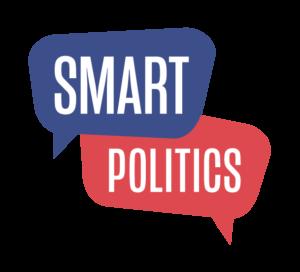 Smart Politics Red and Blue Logo